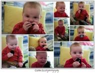 child collage