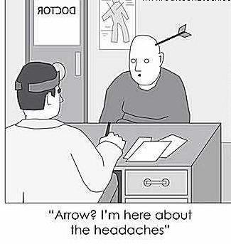 arrow headache