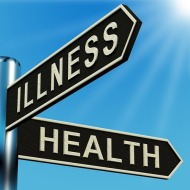 illness-or-health-directions-on-a-signpost